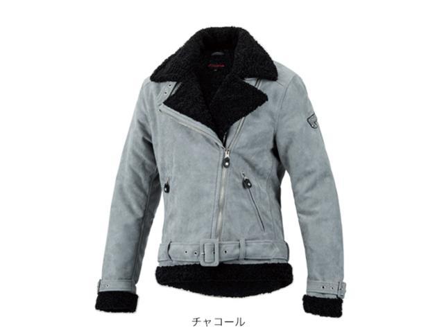 画像: Hondaライディングギア/レディース・ボアジャケット/チャコール ¥19,800 +税(Size:WS,WM,WL,WLL) www.honda.co.jp