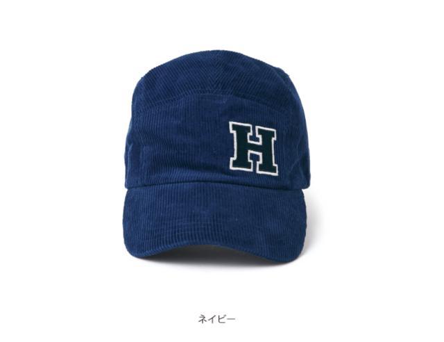 画像: Hondaライディングギア/コーデュロイキャップ/ネイビー ¥2,800+税(Size:F 背面ベルト調節で頭位/58cm ~ 60cm 対応) www.honda.co.jp