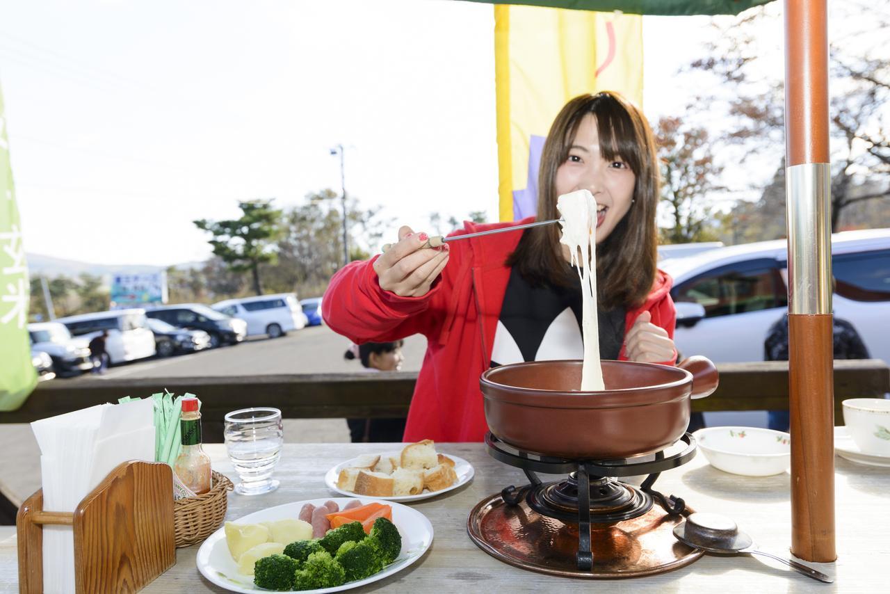 画像3: チーズフォンデュ¥1,030(ご注文は2名様~) + レアチーズケーキ¥420