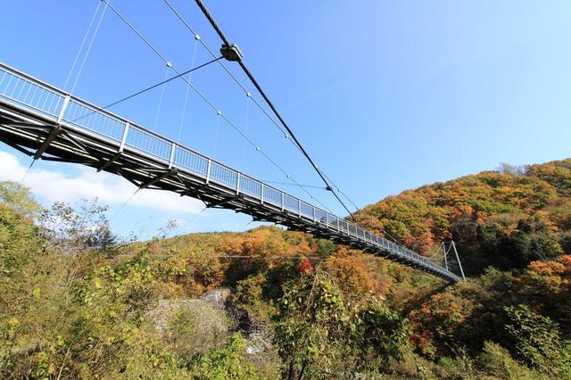 画像: やまびこ吊り橋 | 見る | 七ヶ宿町観光サイト