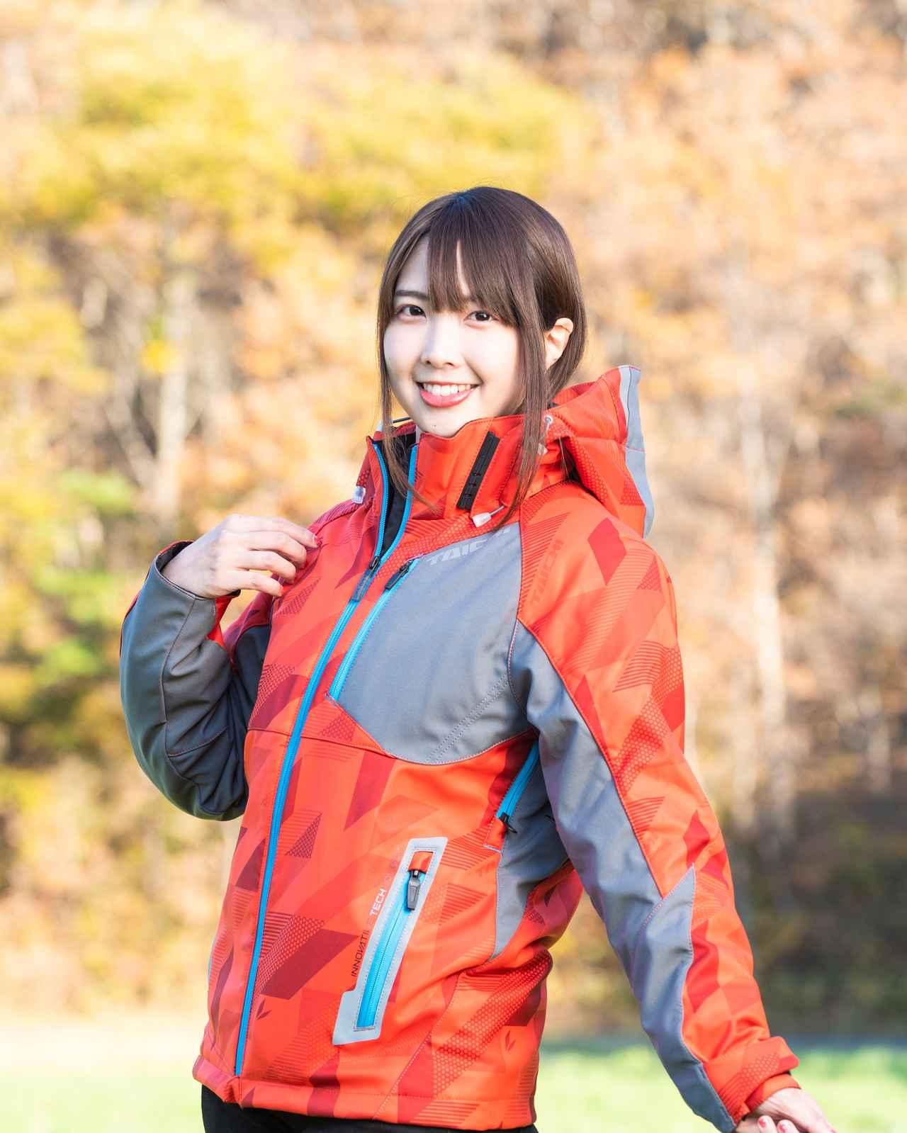 画像: ライダージャケットは、RS TAICHIのソフトシェル オールシーズンパーカです。