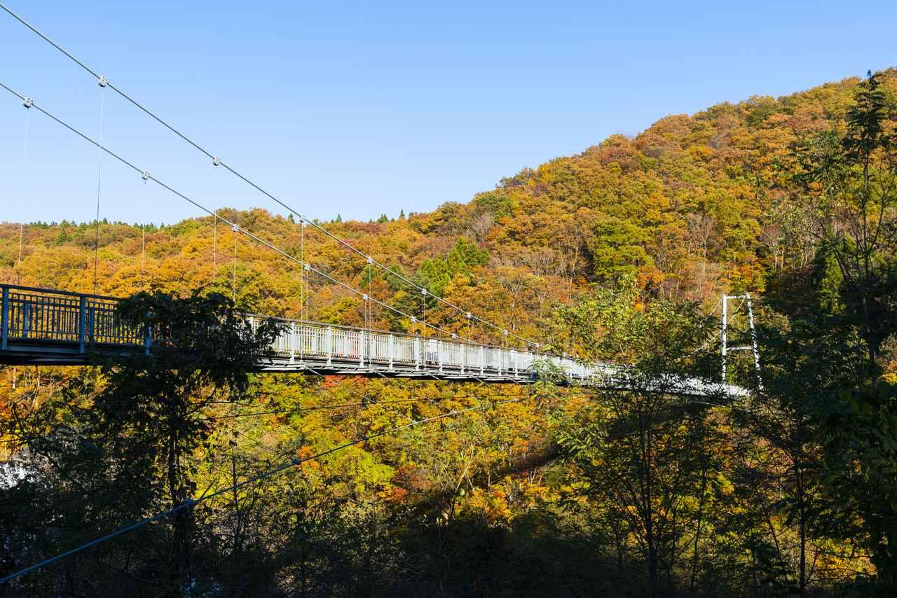 画像1: やまびこつり橋へ向かうぞーーー!