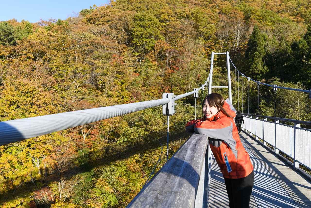 画像3: やまびこつり橋へ向かうぞーーー!
