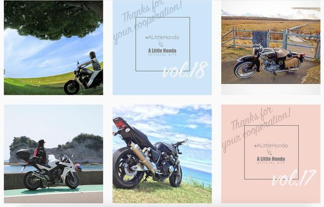 画像: かっこいいバイク集結。みんなのホンダ愛車をご紹介!【リトホンインスタ部vol.26】 - A Little Honda