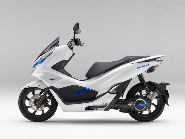 画像2: PCXを電動バイクとして!