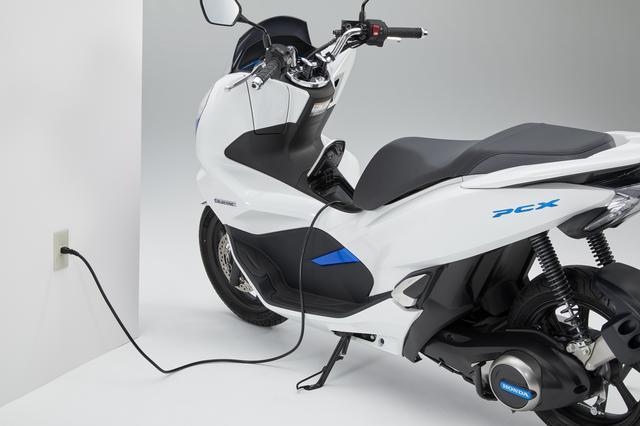 画像6: PCXを電動バイクとして!