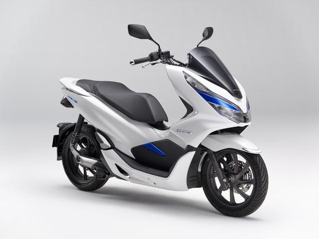 画像1: PCXを電動バイクとして!