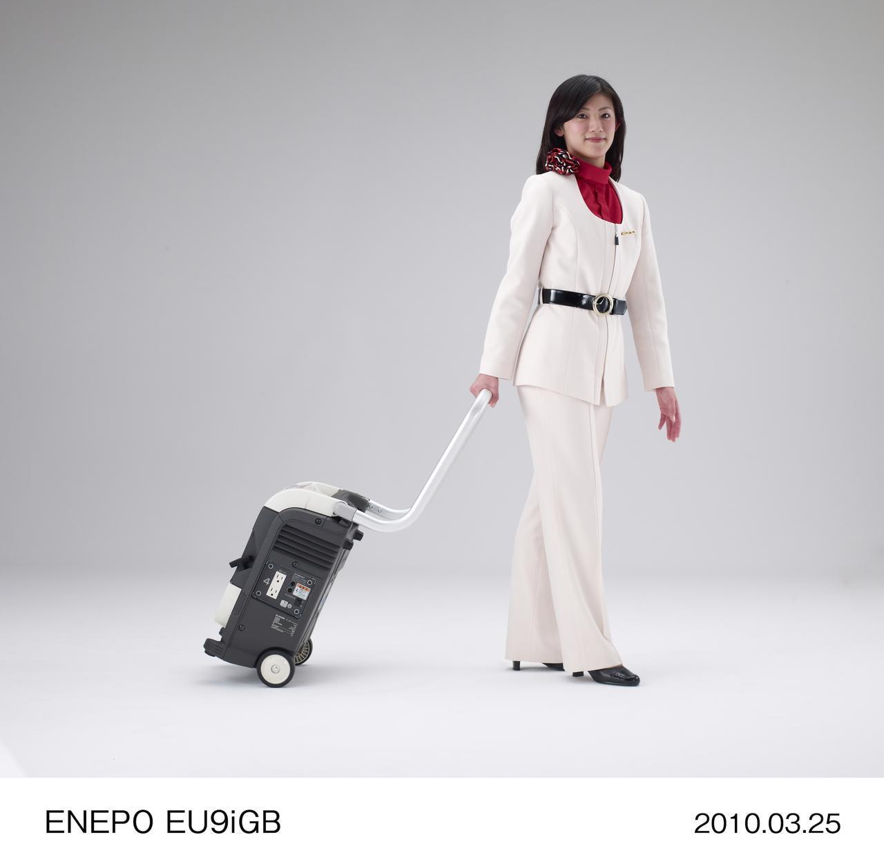 画像: それは唯一白いケースのEU9iGB、通称エネポ。