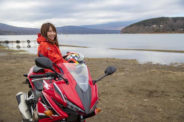 画像3: 絶景!富士山が見える山中湖の湖畔に到着♪