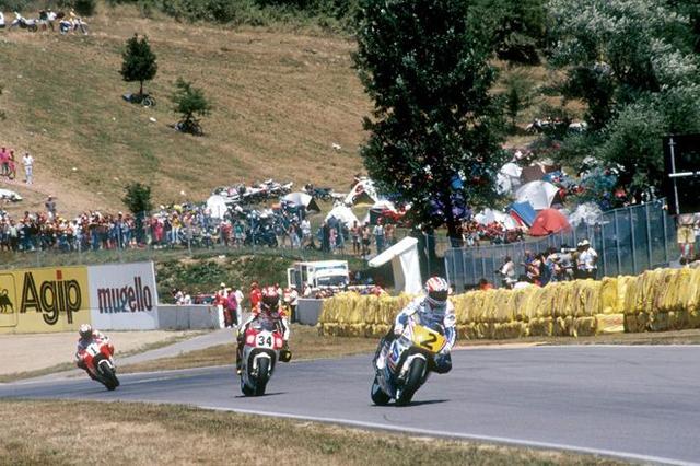画像: 1993年、ドゥーハンはシーズン初勝利を第9戦サンマリノGPで記録しました。 world.honda.com