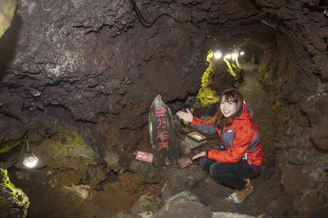 画像6: 船津胎内樹型(洞窟)へ到着いたしました
