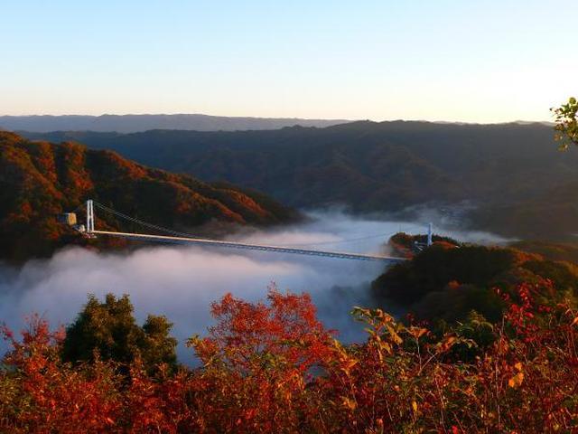 画像: 竜神大吊橋|常陸太田市観光物産協会公式ホームページ