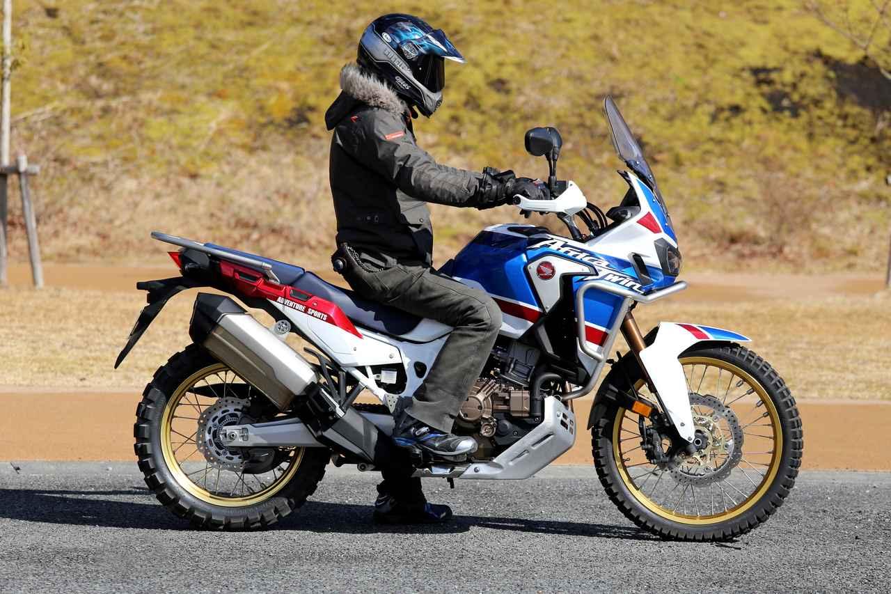 画像2: デカいバイクの難点……