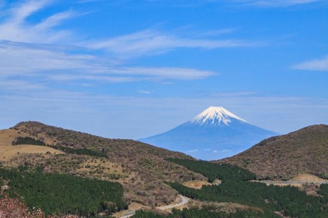 画像: 西天城高原からの富士山
