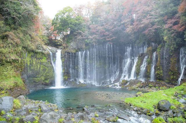 画像6: 白糸の滝へ到着しました!