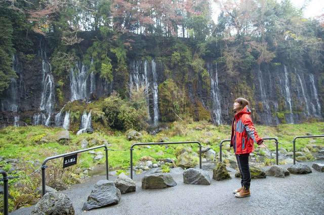 画像5: 白糸の滝へ到着しました!