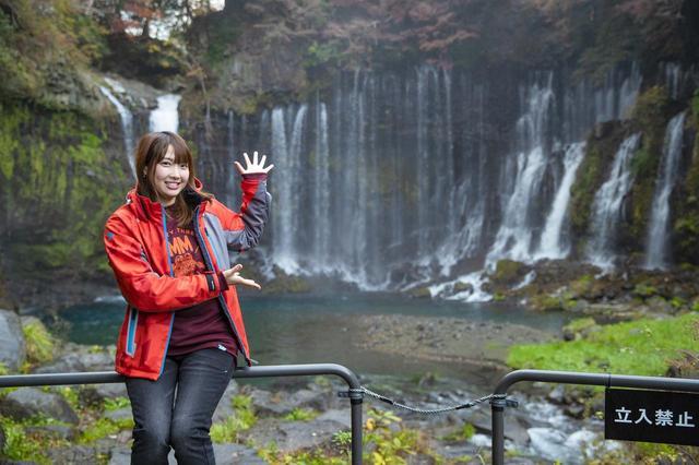 画像3: 白糸の滝へ到着しました!