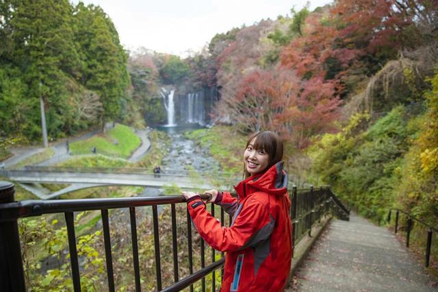 画像2: 白糸の滝へ到着しました!