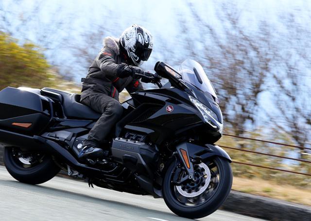 画像12: 250ccのバイクが7台分以上の排気量!? だけど、1秒で世界がひっくり返る。【ホンダオールすごろく/第24回 ゴールドウイング・DCT】