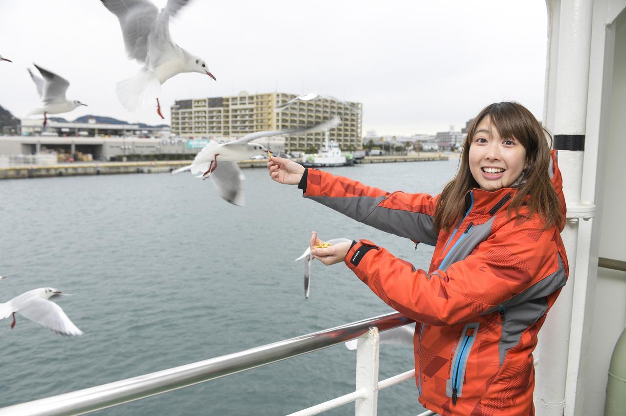 画像4: 久里浜港に到着!