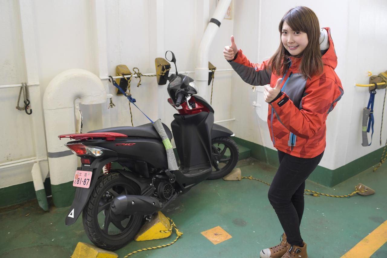 画像3: 久里浜港に到着!
