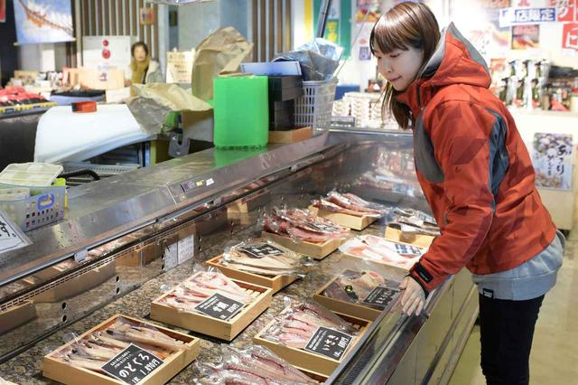 画像2: 勿論お魚のお土産も充実!