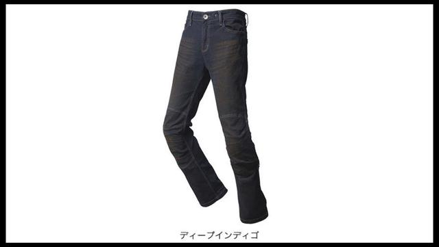 画像: ホンダライディングギア公式サイトより/プロテクトストレッチデニムジーンズ ¥8,000+税(S、M、L、LL) ¥9,000+税(3L、4L) www.honda.co.jp