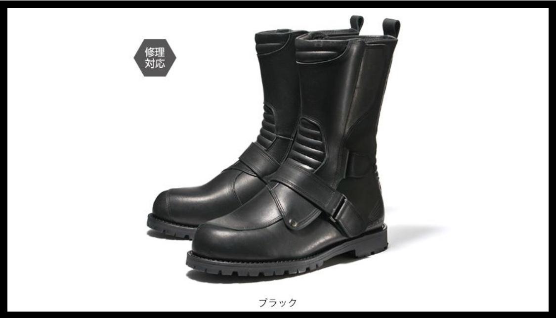 画像: ホンダライディングギア公式サイトより/ミドルブーツ ¥31,800+税 www.honda.co.jp