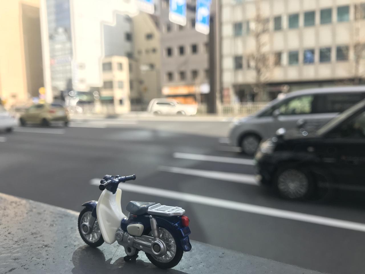画像1: 都会のスーパーカブをおしゃれに撮影&加工するテクニック!