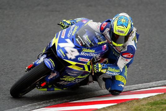 画像: 2003年開幕戦、日本GP(鈴鹿)の予選を走る加藤大治郎。 www.honda.co.jp