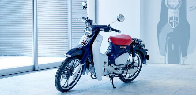 画像: スーパーカブ C125 www.honda.co.jp