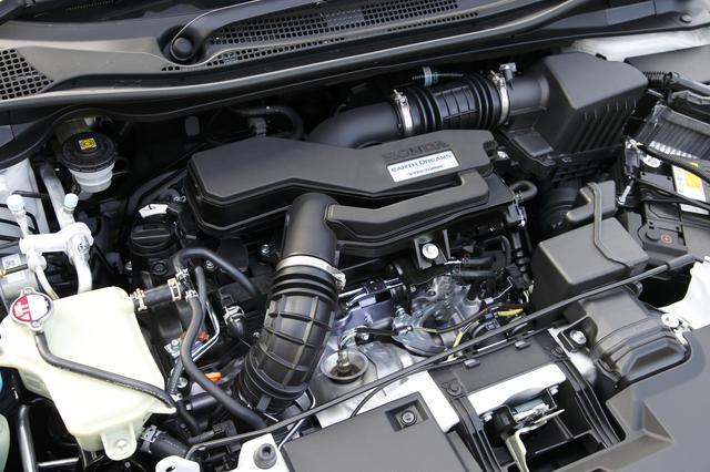 画像: 1.5LVTECターボエンジン搭載。それに合わせて専用セッティングされたパフォーマンスダンパーを装備する。