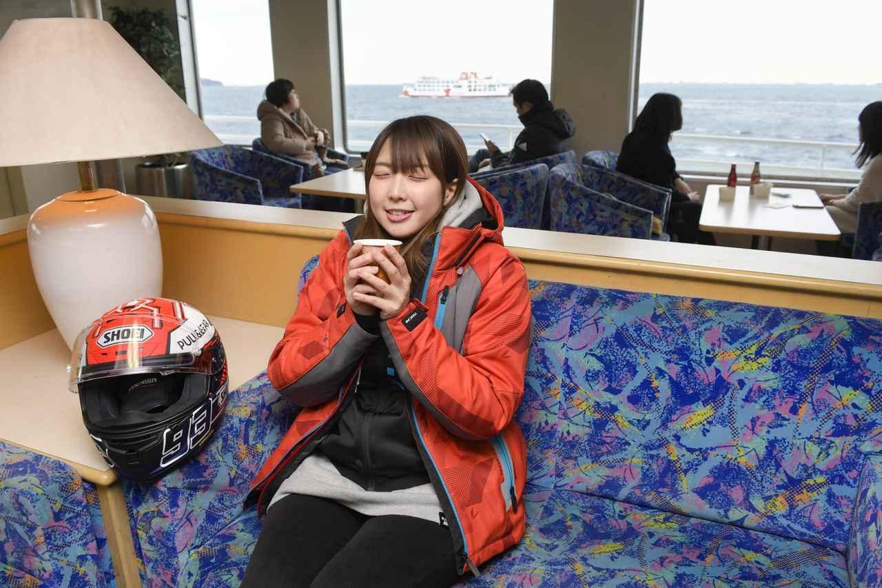 画像: ディオ110と一緒。フェリーに乗って金谷港まで!【声優・西田望見のA Little♡Rider @ Dio110】 - A Little Honda