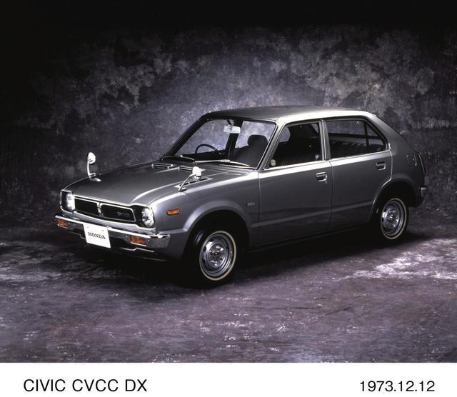 画像: CVCCの製品化は2年後の73年だった。