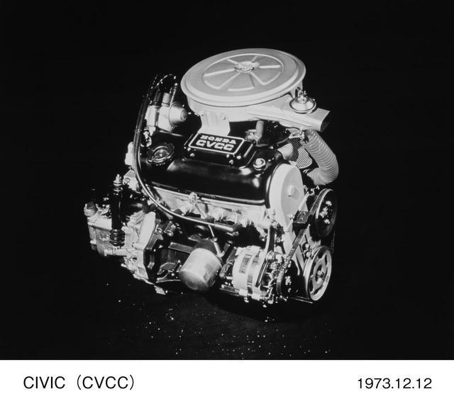 画像1: CVCCエンジンって!?