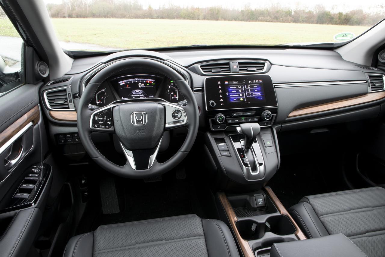画像: CR-Vに採用されるセンター部のインフォテインメントシステムは、Android AutoやApple CarPlayにも対応する。