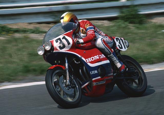画像: 前後輪連動ブレーキを搭載した耐久ロードレースマシン 1976年のRCB1000