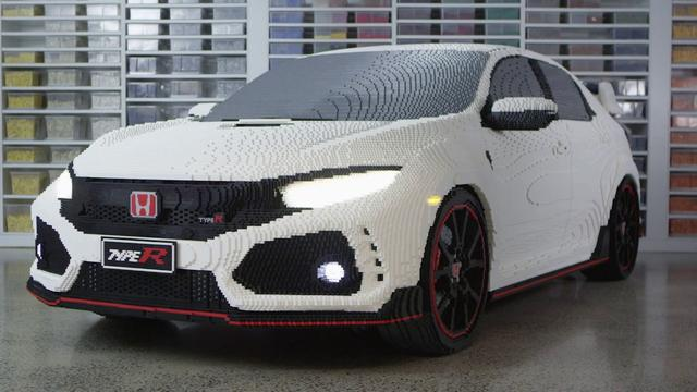 画像: The LEGO® Civic Type R youtu.be
