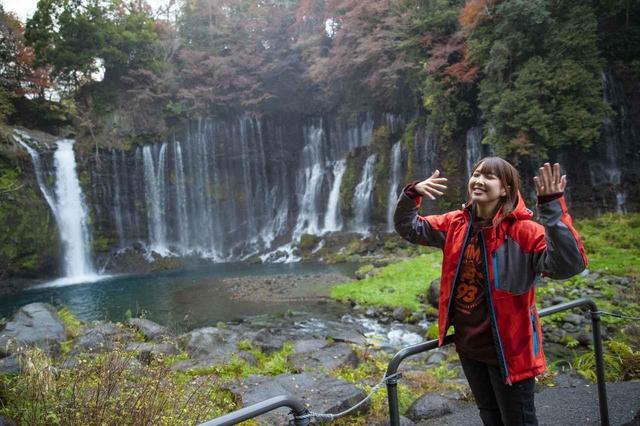 画像: マイナスイオン満点の白糸の滝! 富士山周遊ツーリング最終回【声優・西田望見のA Little♡Rider @ CBR400R】 - A Little Honda