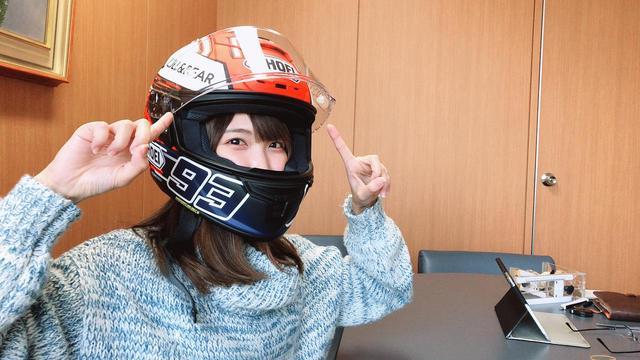 画像: ヘルメットのフィッティングinSHOEIさん!/声優・西田望見の「休日おすそわけ」 - A Little Honda