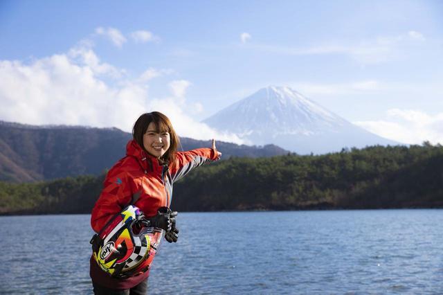 画像: ボリューム満点ハンバーガーとキラキラ湖畔 富士山周遊ツーリングその4【声優・西田望見のA Little♡Rider @ CBR400R】 - A Little Honda