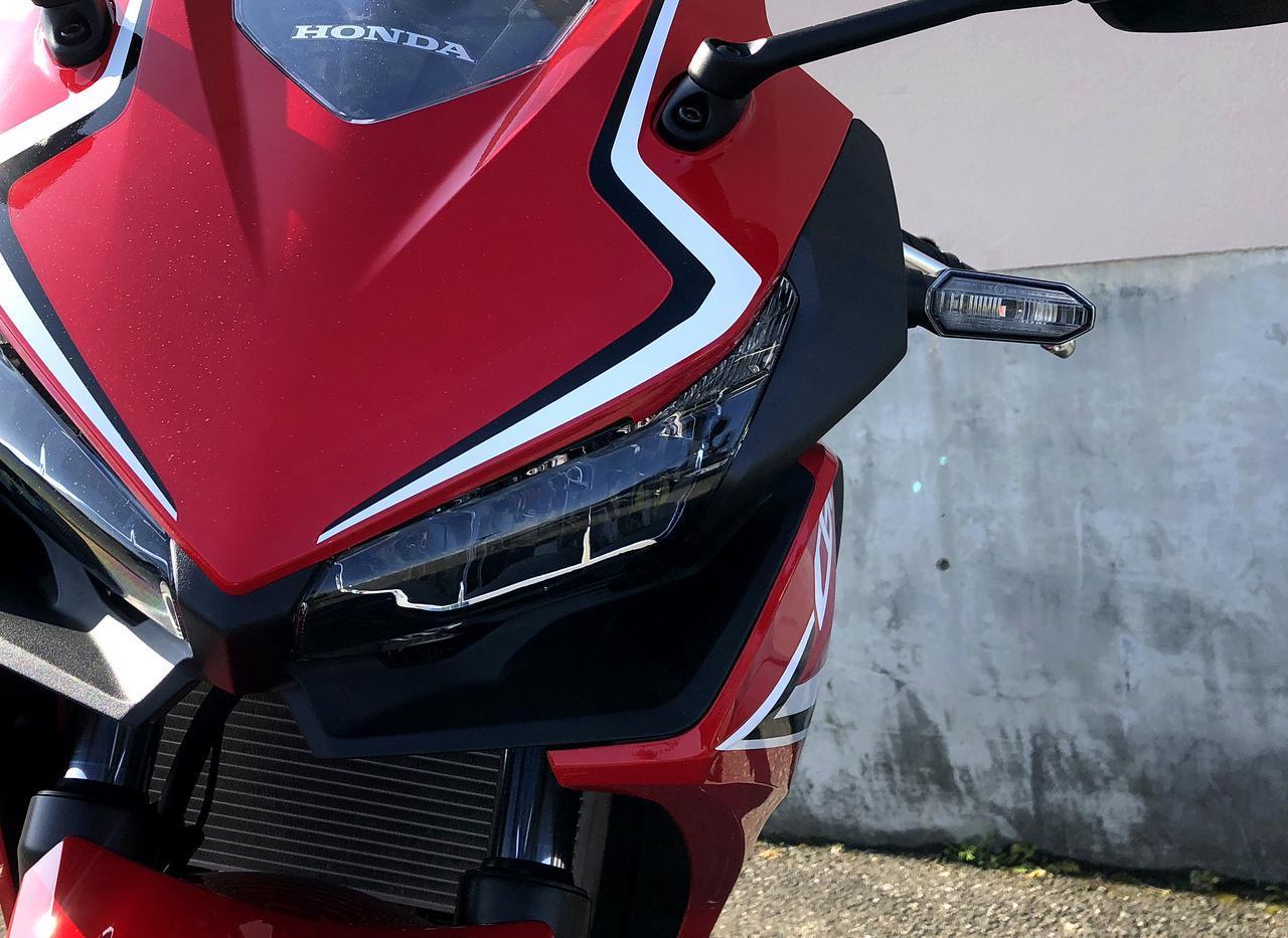 画像: CBR250RRより高コスパ? 新型CBR400Rの実車を見てきました! - A Little Honda