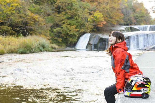 画像: 蔵王のラストは滑津大滝を目指します♪【声優・西田望見のA Little♡Rider @ CB400SB】 - A Little Honda