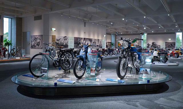 画像: ホンダコレクションホール内「2輪市販車」 www.twinring.jp