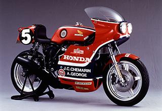 画像: ホンダ RCB1000(1976年) ジャン・クロード・シュマラン/ アレックス・ジョージ ヨーロッパ耐久選手権シリーズ ボルドール24時間耐久レース優勝