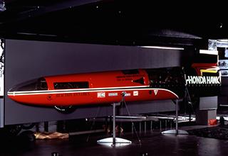 画像: ホンダ ホーク(1971年) ジョン・S・マッキベン ボンネビル世界最高速挑戦