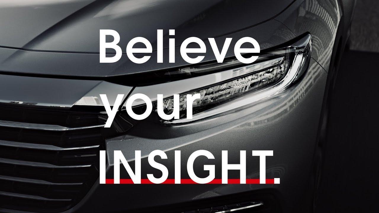 画像: INSIGHT「Believe your INSIGHT.」篇 30秒 www.youtube.com
