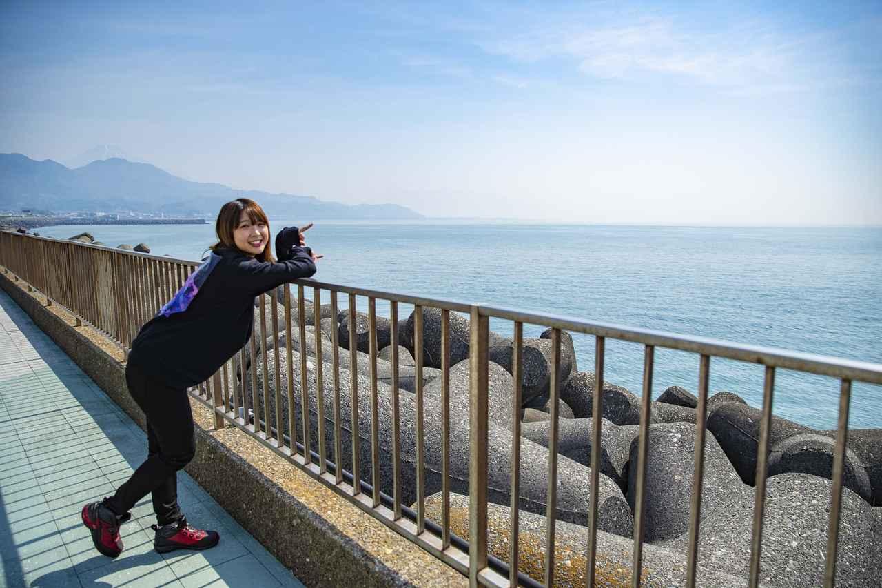 画像3: さっそく海が見えてまいりました!
