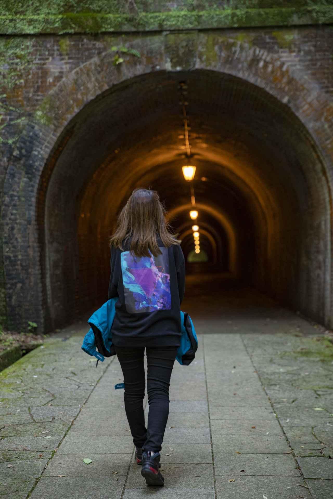 画像2: 明治のトンネルに到着!