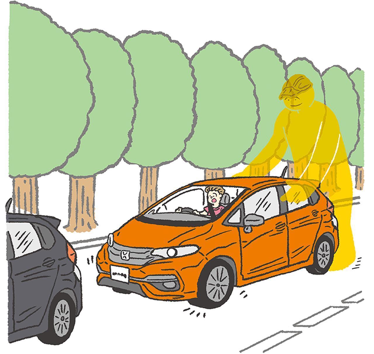 画像: 不注意による急発進を防止し注意を喚起。 https://www.honda.co.jp/hondasensing/